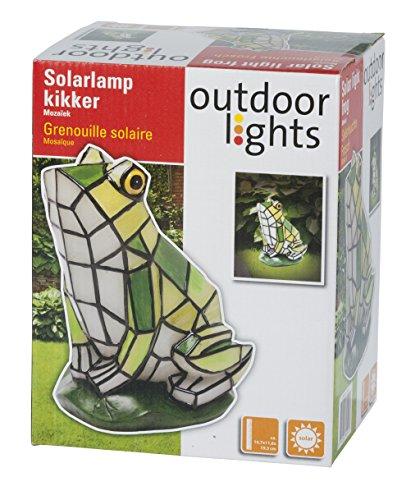 Outdoor Lights Solar Frog Mosaic 79191