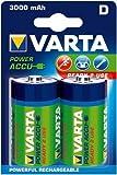 VARTA Akku RECHARGEABLE POWER Mono Blister 2 Stück 1,2 V 3000 mAH Ni-MH