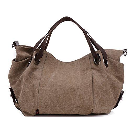 sacchetto di spalla della tela di Ms./Handbag Messenger/versione coreana di borsa casuale retrò-B B