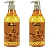 2x L'Oréal Série Expert Shampooing nutrifier avec distributeur–500ml