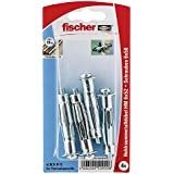 Fischer Hohlraum-Metalldübel HM 6 x 52 SK SB-Karte, 4 x Schraube M 6 x 60, 050909