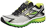 Brooks Ghost 8 M, Zapatillas de Running para Hombre, Silver/Classic Green/Lime Punch, 40 1/2 EU