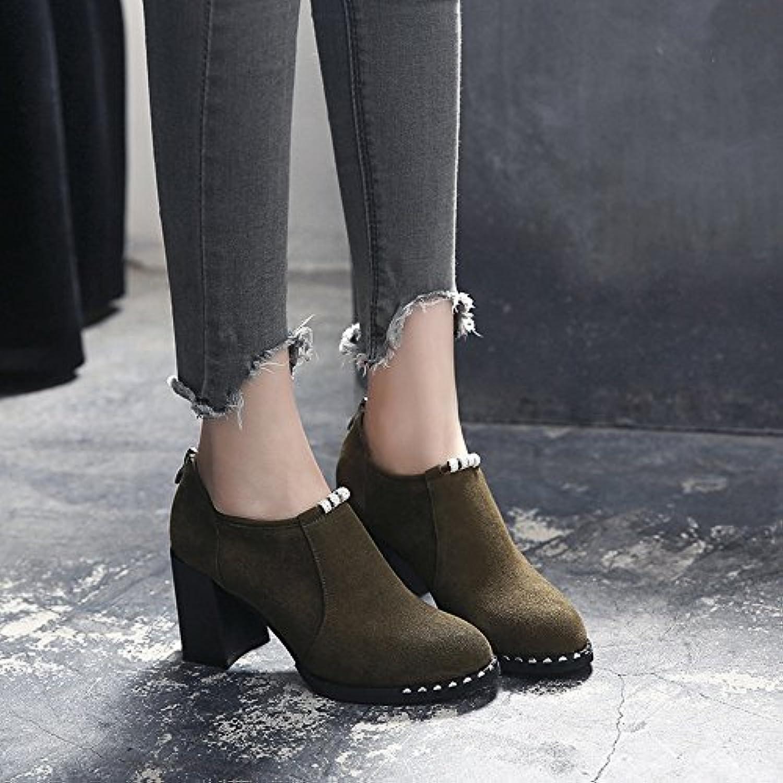 SCARPE HAIZHEN   Stivaletto Donna Heels Autunno Inverno Heels Heels Heels Heel Round Round per Ufficio Casual Ufficio 7.5cm... | Prima classe nella sua classe  | Uomini/Donna Scarpa  e3b2b5