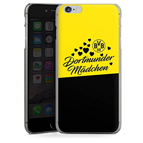 Apple iPhone 6 Plus Hülle Case Handyhülle BVB Borussia Dortmund Dortmunder Mädel Hard Case anthrazit-klar