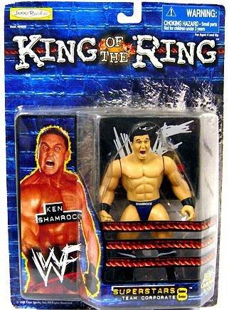 WWF - King of the Ring - Superstars Team Corporate 8 - Ken Shamrock - MOC Ring Moc