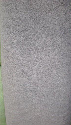 Polar Fleece Stoff grau - 0,5 Meter