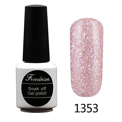 Frenshion 7.3ml Soak off UV LED Nagellack Gel Nail Polish Nail Art 1353