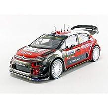 Norev NV181633 Citroen C3 WRC Número 9 Corse 2017 S Lefebvre/G Moreau Diecast Model