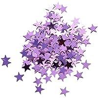 - FLAMEER 14g 1cm Confettis Etoilés Pétillante Confetti à à à Saupoudrer Décoration de Table / Fête / Ballon / Cateau / Mariage - 1cm 471334