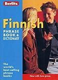 Finnish Berlitz Phrase Book and Dictionary (Berlitz Phrasebooks)
