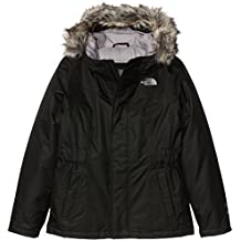 The North Face Greenland Parka niña, color Tnf Black, tamaño L