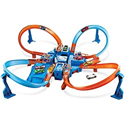 Hot Wheels Cross Crash trackset Mattel DTN42