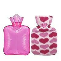Preisvergleich für Heißwasser-Flasche 250ML, wärmen Ihre Hände / Behandlung von wunden Muskeln, gelegentliche Farbe PVC-A