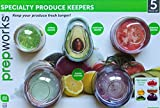Prepworks Specialty Produce Keepers 5 Piece Set