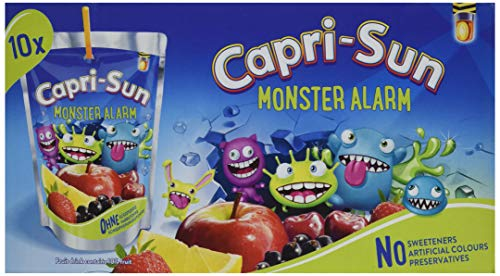 Capri-Sun Monster Alarm, 10 x 200 ml -