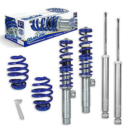 JOM Kit suspension combiné fileté BlueLine E46 4+6 Cylindres incl. Touring 98-05 Amortisseurs...
