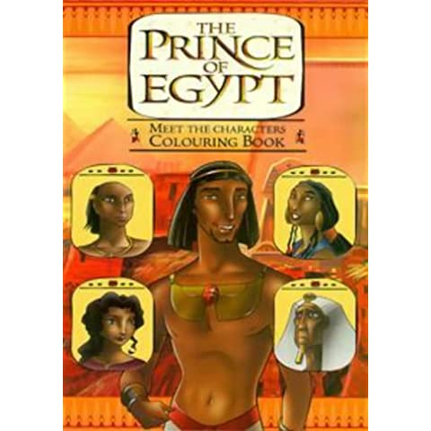 Prince of Egypt: Colouring Book (Dreamworks)