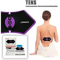 Jumper TN001 Electroestimulador TENS, Estimulador de Pulso Eléctrico Inalámbrico con Baterías Recargables para Relajación Muscular y Alivio del Dolor Dirigido al Cuerpo