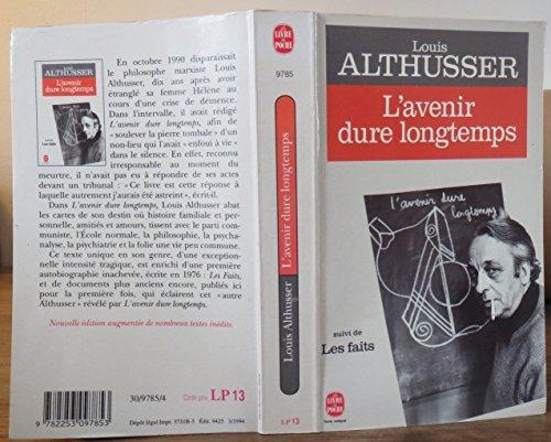 L'Avenir dure longtemps, suivi de Les faits par Louis Althusser