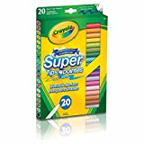 Crayola 20 Supertips (5 Silly Scents)