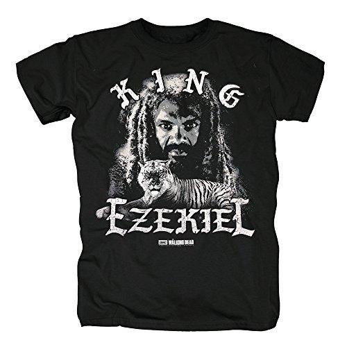 TSP The Walking Dead - The King & Tiger T-Shirt Herren M (Kostüm Dead Carol The Walking)