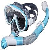 TQBT Tauchmaske Schnorchelmaske Schnorchelausrüstung für Tauchmaske