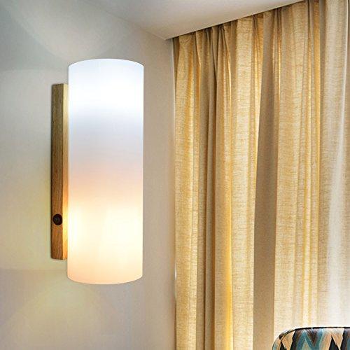 GaoHX Light Luces De Paseo Nórdico Balcón Escalera Pared Lámpara Lámpara De Noche Dormitorio Salón Iluminación Ideas Pared Simple Y Moderna