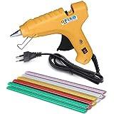 Ofixo 40W 10 Glitter Glue Sticks Hot Melt Glue Gun Kit (Yellow)
