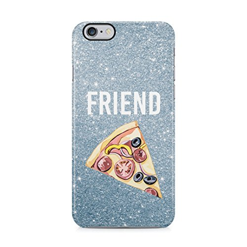Pizza Food Friend Best Friends Girlfriend Matching Case Perfect Gift for Birthday Schutzhülle aus Hartplastik Handy Hülle für iPhone 6/iPhone 6s Case Hard Cover Hard Case Handy Cover