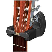 Aroma guitarra soporte de pared percha con automático Lock para eléctrico acústica guitarra bajos