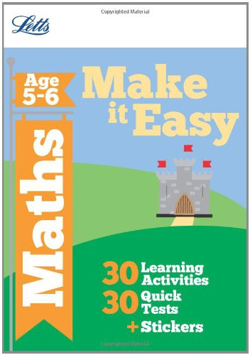 Maths Age 5-6 (Letts Make It Easy Complete Editions)