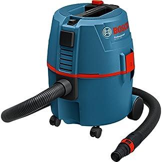 Bosch Professional GAS 20 L SFC – Aspirador seco/húmedo (1200 W, capacidad 20 l, manguera 3 m, SFC, 215 mbar)