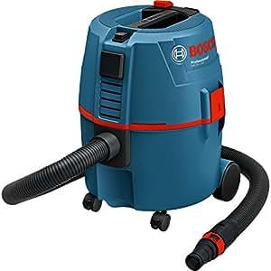 Bosch Professional 060197B000 GAS 20 L SFC, Aspiratore a umido/a secco, 1.200 W, Filtro Semi-Automatico