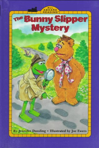 The Bunny Slipper Mystery (All Aboard Reading (Library))