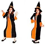 Best Adult Halloween Costumes - Fancy Steps Halloween Witch Costumes Girl - Black Review