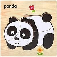 Sisit Puzzle / jouet en bois, éducatif et développemental pour bébé (Animal)
