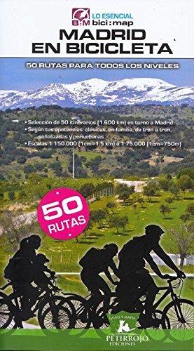 Madrid en bicicleta: 50 rutas para todos los niveles (Bici:map)