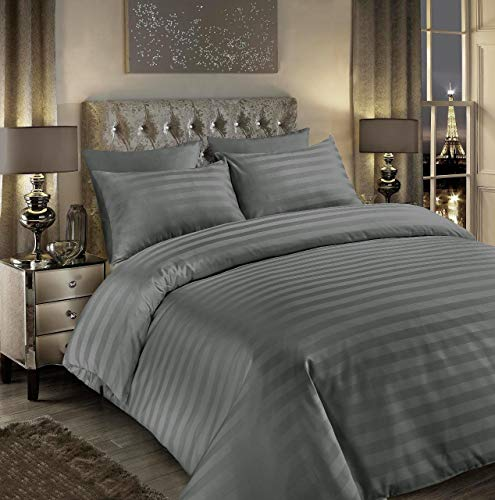2 oxford Pillowcases Double Size Quilt Cover Set Aqua Bedeck Maliki