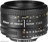 Nikon Objetivo - Nikkor AF 50mm f/1.8D - Negro
