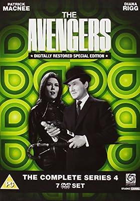 The Avengers - Series 4 Digitally Remastered [DVD]