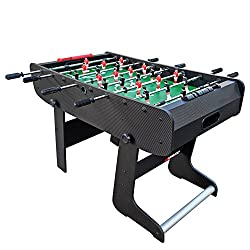 Viavito FT100X Folding Football Table - Black/Green, One Size