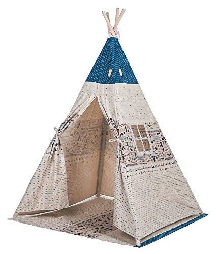 Preisvergleich Produktbild Kleine Junge Kinder Teepee Kinder spielen Zelt 145cm Indian Zelt für Kinder Indoor Play Ground spielen Hauszelte Kid Outdoor Gartenzelt