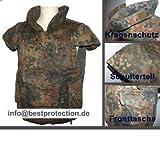 Unbekannt Bundeswehr Splitterschutzweste Ersatzhülle Größe ML