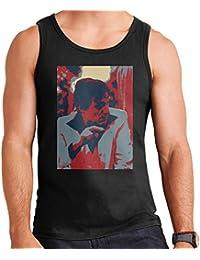Hugh Hefner Playboy King 1981 Men's Vest