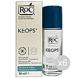 Set 6Roccobarocco Roc Déodorant Roll-On Keops 30ml Hygiène et Soin du Corps