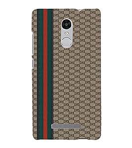 EPICCASE Leather finish Mobile Back Case Cover For Xiaomi Redmi Note 3 (Designer Case)