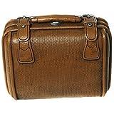 Preis am Stiel ® Spardose Koffer braun mit Schloss