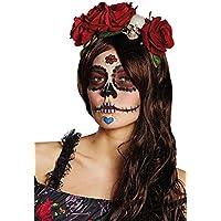 Rubie  s ufficiale giorno dei morti fascia accessorio per costume di  Halloween – Taglia unica 5dcdce7fea3e