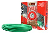 #6: Plaza Cables 0.75 sq mm Copper PVC Insulated Electrical Wire/Cable 1100V -90 Meter (Best for Home use)