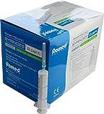Einmalspritzen + Einmalkanülen einzeln steril verpackt 25 Stück von Romed Medical (20 ml + Einmalkanüle 21 G x 1,5 (0,8 x 40 mm))